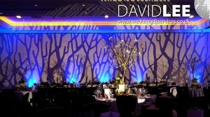 image projection Wedding Lighting