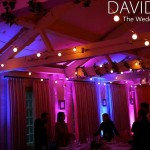 Uplighting and festoon lighting