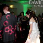 Bride Dancing at Alderley Edge Hotel