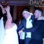 Bride and groom dancing at Davyhulme Park Golf Club
