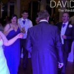 Bride being cool at Davyhulme Golf Club