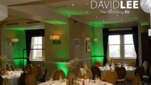 Wedding Lighting Alderley Edge Hotel
