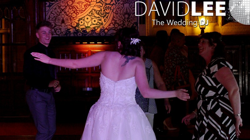 Bride Dancing at Rochdale Town Hall