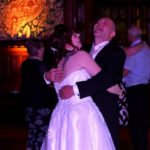 Bride and her father at Rochdale Town Hall Wedding