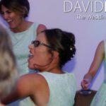 Bridesmade partying at Walton Hall