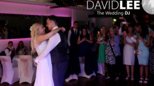 First Dance at Castlefield Rooms Wedding