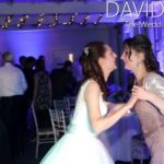 Bride and Sister Dancing