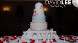 Mottram Hall Wedding Cake