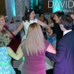 Manchester wedding guests dancing