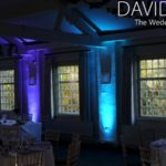 Uplighting for cheshire weddings