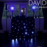 Cheshire DJ set-up for weddings