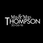 Mr & Mrs Monogram 21
