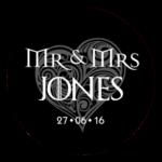 Mr & Mrs Monogram 22