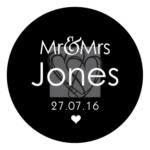 Mr & Mrs Monogram 24