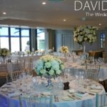 Verdure Floral Design - South Terrace Set up for a wedding