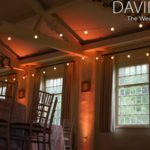 Festoons and uplighting at Quarry Bank Mill