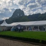 Woodsome Hall Golf Club Wedding Marquee