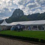 Woodsome Hall Golf Club Wedding Marquee
