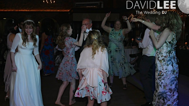 Dancing the night away at Adlington Hall