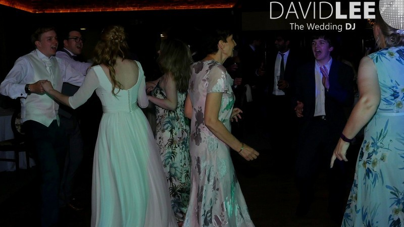 Wedding Guests dancing at Adlington Hall