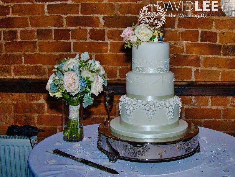 Wedding Cake at Adlington Hall