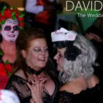 Corpse Brides Dancing at Halloween Wedding